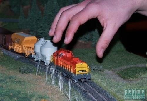 Vasútmodell kiállítás 2010